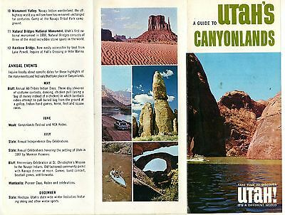 Travel Brochure For Utah's  Canyonlands  1960's