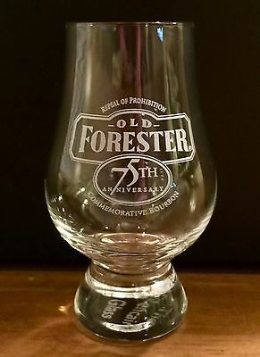 Old Forester 75th Anniversary Commemorative Bourbon Repeal Of Prohibition Glass