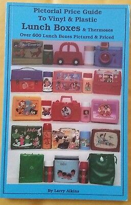 Vintage Lunchbox Value Guide Collector's Id Book Color Photos Thermoses 600+