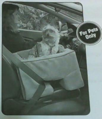 Pet Gear Booster Car Seat for Cats and Dogs up to 15-Pounds, Medium, Black $94
