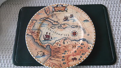 Villeroy &  Boch Charger plate - Journeys of Crystal Cruises - Carribean Sea