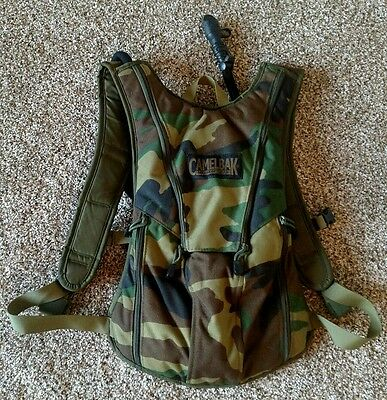 Camelbak Viper Woodland Camo Cordura 3 Liter Hydration Backpack