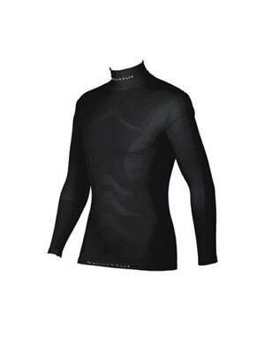 Sportful High Neck Deluxe fahrrad-funktionsunterhemd Long Sleeve, Black Size L