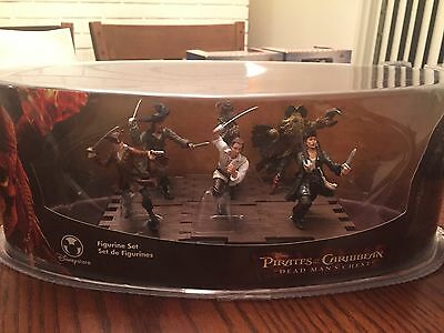 Pirates of the Caribbean Dead Man s Chest Figurine Set