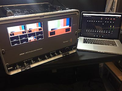 Blackmagic  ATEM 1 M/E  Studio Production Switcher + 1 x Smart View Duo + MIxer