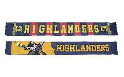 Highlanders Super Rugby Premium Banner Jacquard Scarf! BNWT's!