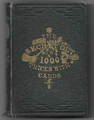 1859 The Secret Out Very Old Magic Book That Should Be In Your Magic Library