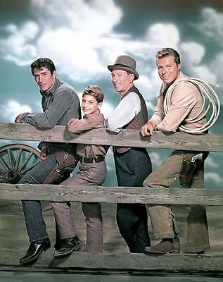 Robert Fuller John Smith Bobby Crawford  Laramie  8X10 Photo 491
