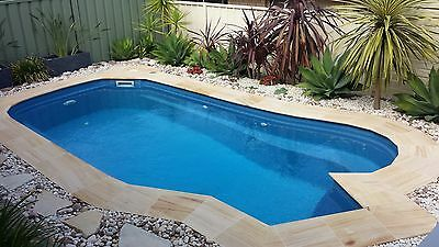 D I Y 5.5M Swimming Pool  - Complete Fiberglass Kit With Install Instructions