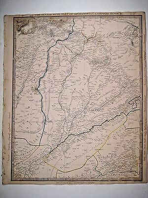1839 SDUK: Map of Pakistan, eastern Afghanistan