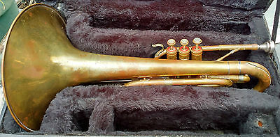 Bach Mercedes Mellophone and case
