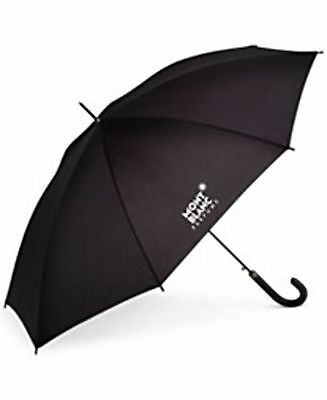 MONT BLANC UMBRELLA Black Huge Size NWT