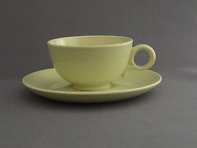 60s VTG Retro Pebbleford Sunburst Yellow Cup and Saucer Taylor, Smith & Taylor