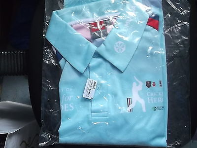 Help For Heroes Charity Cricket Shirt Small Size Vb Make
