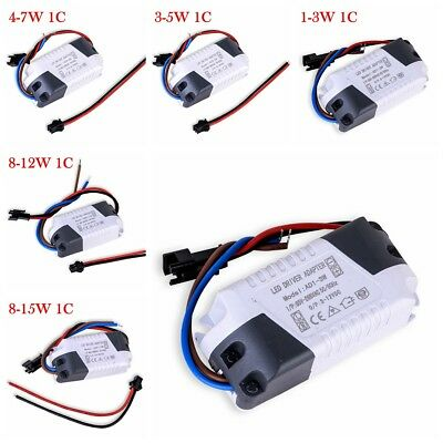1-24W LED Driver Power Supply Electronic Transformer Constant Current 300mA
