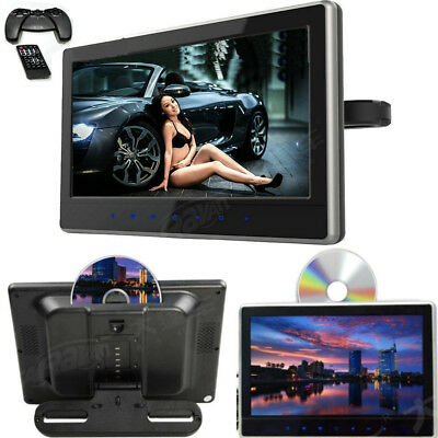Pair 11.6 inch Ultra-thin HD Screen Portable Car Headrest DVD Monitor HDMI FM AV