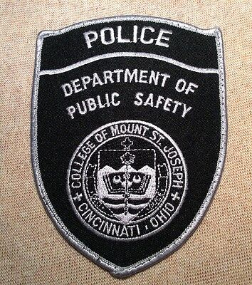 OH College of Mount St. Joseph Ohio Police Patch