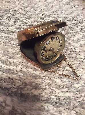 Vintage Victorian Style Europa Pocket Travel Clock