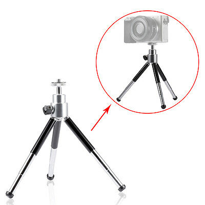 "Neewer 5.7-8"" Adjustable Heavy Duty Mini Tripod for Compact Camera&Camcorder"