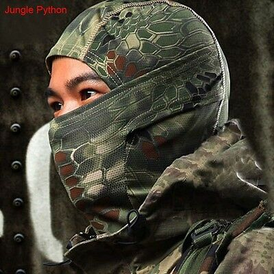 Windproof Army Military Sports Full Face Mask Skull Cap Hats Outdoor Motorcycle