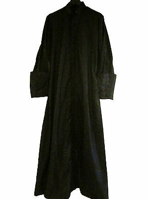 New Vestment Black Cashmere Wool Cassock