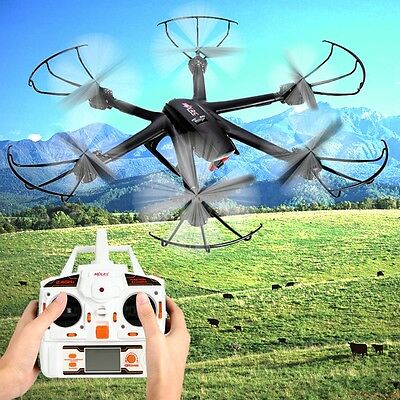 UK SHIP MJX X600 2.4G 6Axis 3D Roll FPV Wifi RC drone UFO Quadcopter Helicopter