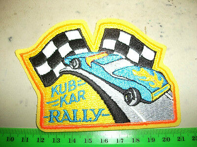 Cub Scout Canada Kub Kar Rally Iron-on  Embroidered Patch