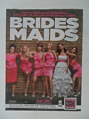 2011 Print Ad Brides Maids Movie Preview