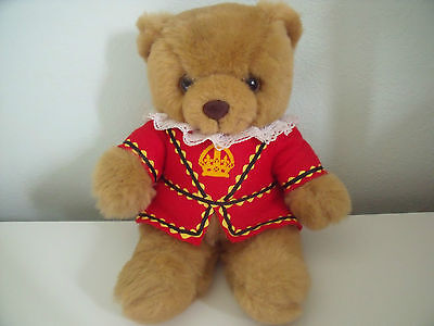 Sweet Dreams Rexard Teddy Bear In Beefeater Costume Approx  12 Inches