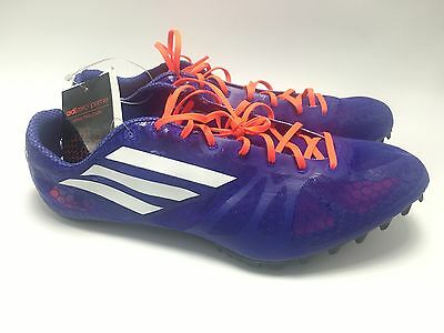 NEW Adidas Adizero Prime SP Sprint Spikes Track Shoes B41015 Men's Size 12