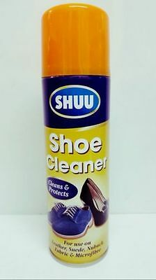 Shoe Boots Spray Cleaner For Leather Suede UGG Nubuck 250ml Brand New