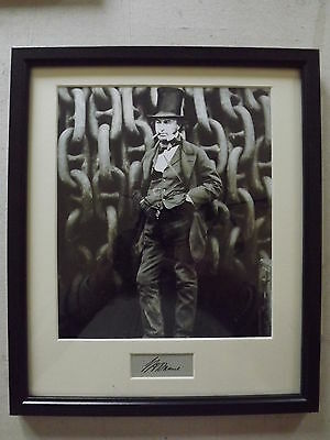 Isambard Kingdom Brunel  Authentic Genuine Autograph & Photographic Display