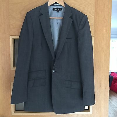 Next Signature Collection Boys Grey Suit Jacket Age 16 Years