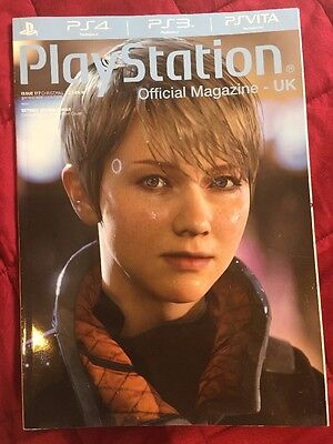 Official PlayStation Magazine #117 Detroit Become Human Limited Edition Cover