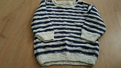 lovely boys next fashion jumper age 6-9 months