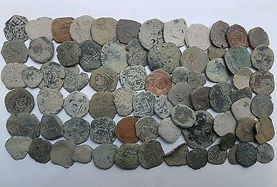*Prados* LOT OF 70 PIRATE COBS SPANISH COLONIAL COINS