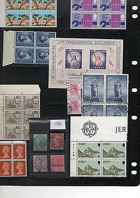 Large collection of World postage stamps Mint and Used scan 108A fr Stamp club
