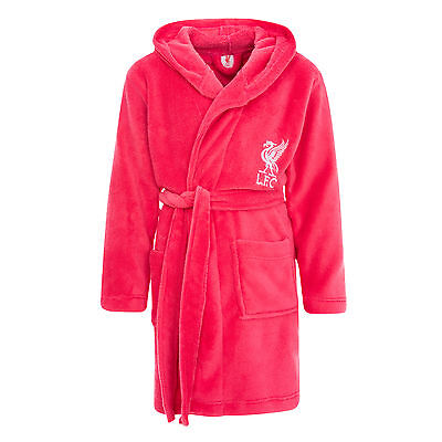Liverpool FC  LFC Liverbird Pink Girls Robe Official