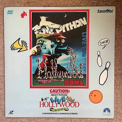 Monty Python Live At The Hollywood Bowl *rare laserdisc*