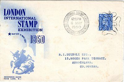 First day cover  London International Stamp Exhibition May 1950