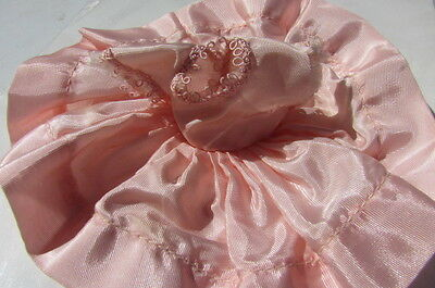 Cosmopolitan Ginger Doll Pink Party Dress Taffeta 1954 Fits Ginny, Muffie, Wendy