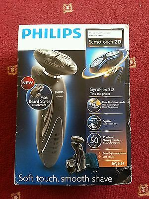 Philips RQ1195/17 Series 7000 Wet and Dry SensoTouch Electric Shaver, RRP £200
