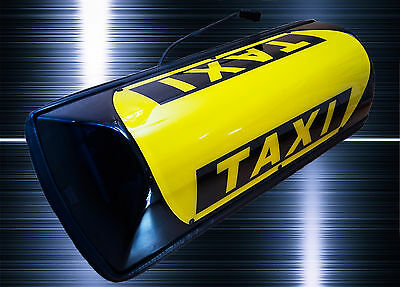 LED Barclay Baby DACHZEICHEN TAXISCHILD Magnethaftdachzeichen Taxi ROOF SIGN
