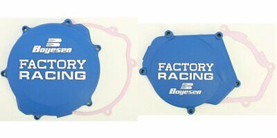 Boyesen Clutch & Ignition Cover Blue Yamaha YZ250 YZ 250 99-16 CC-32AL SC-32AL