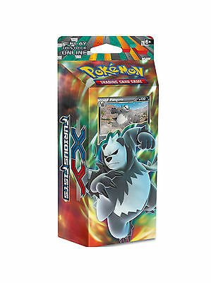 Pokemon Xy Furious Fists - Dark Hammer (Pangoro) Theme Deck Of 60 Cards