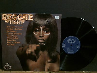 REGGAE TIGHT  Various  LP   UK vinyl original   A1/B1 matrix     Lovely copy !