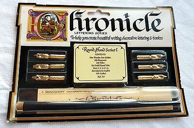 Calligraphy Pen Set - The Chronicle Series - Bnwot.