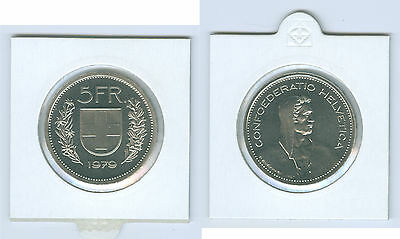 Switzerland 5 Swiss francs Currency coin uncirculated from KMS Choice Of under: