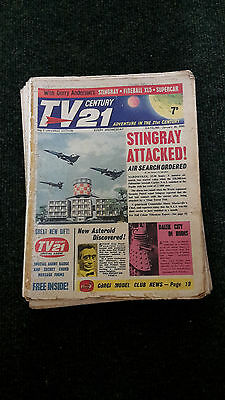 TV CENTURY 21 COMIC 1965 - 47 issues from No. 2 LOOK!