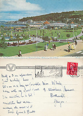 1970 Winter Gardens Rothesay Argyle & Bute Colour Postcard
